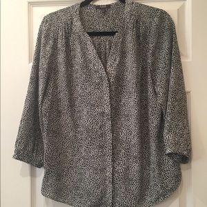 NYDJ leopard blouse
